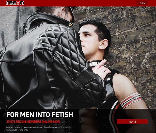 Gay leather video
