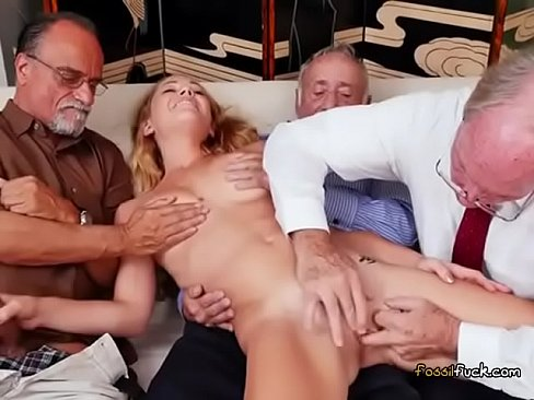Teen pussy old goes men